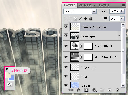 Skyscraper 3D step 3