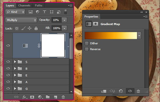 Delicious Bagels Text Effect step 14
