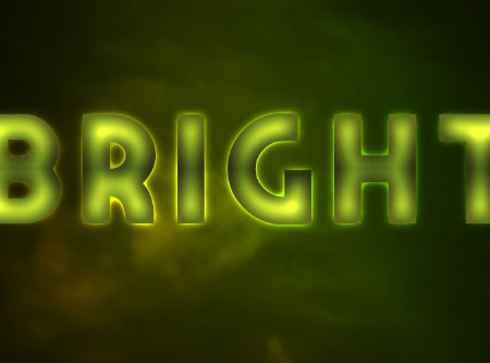 Bright Retro Text Effect step 2
