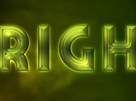 Bright Retro Text Effect step 3