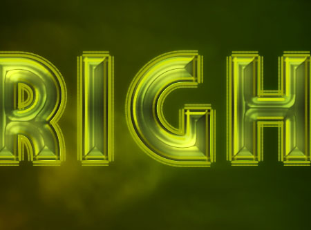 Bright Retro Text Effect step 5