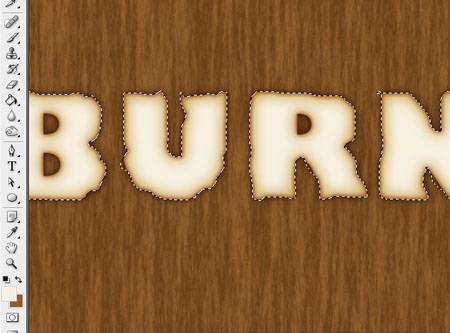 burn TE step 7