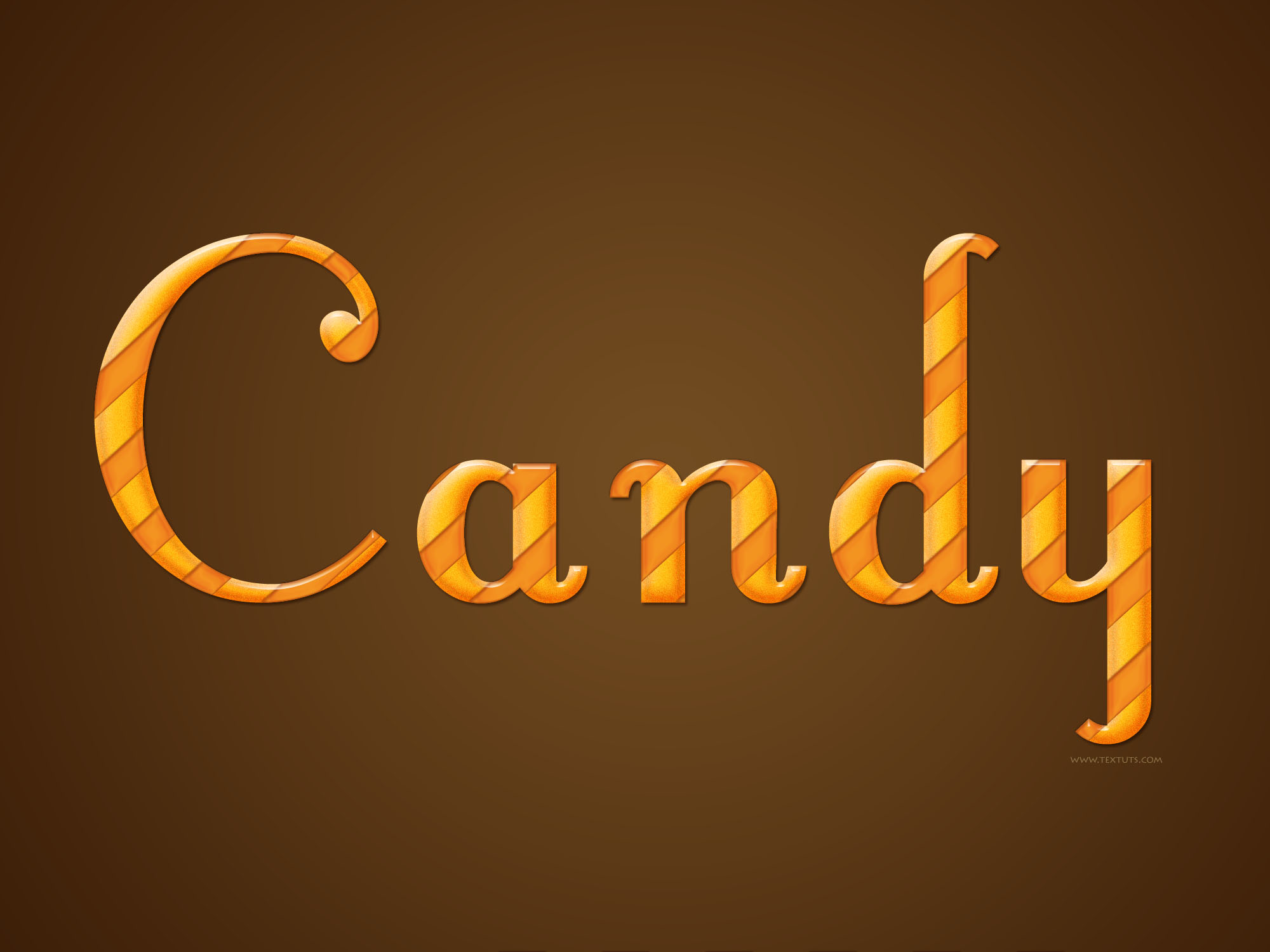 Glossy candy text effect candy wrapper psd font textuts candy baditri Gallery