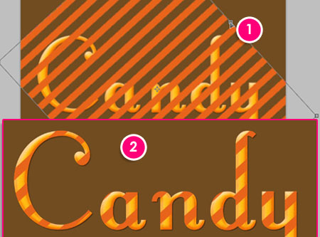 Candy TE step 7