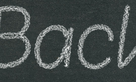 Chalk Text Effect step 4