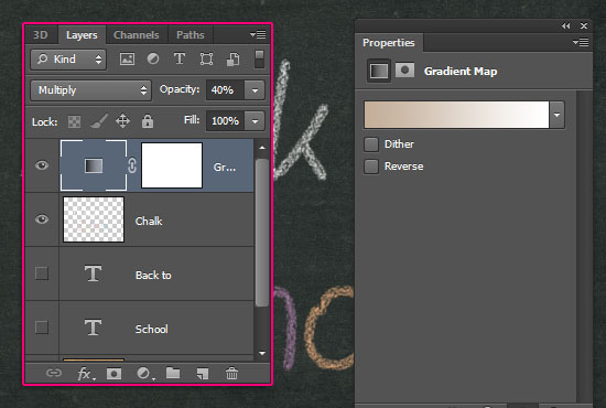 Chalk Text Effect step 6