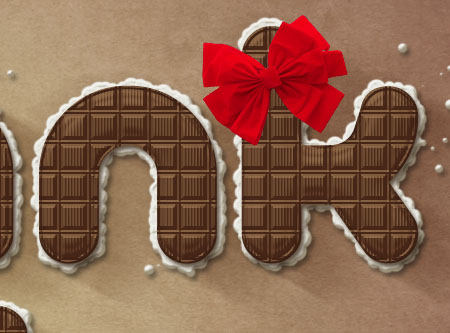 Chocolate Bar Text Effect step 9