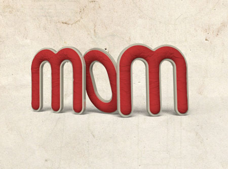 Crumpled Paper 3D 14 1 - Crumpled Paper Textured 3D Text Effect In Photoshop CS5 – Part 2