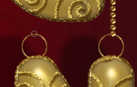 Decorated Gold Metallic Text Effect step 11