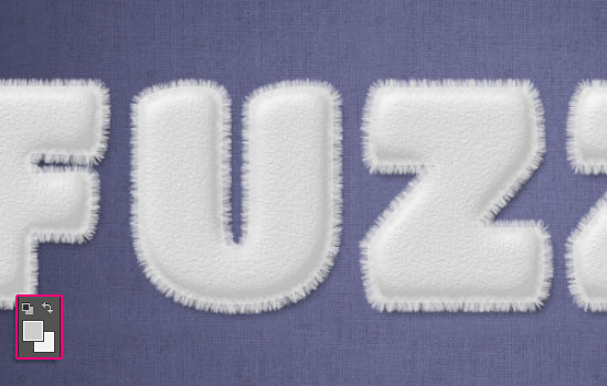 Striped Fuzzy Text Effect step 4