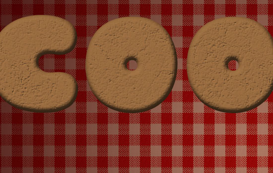 Gingerbread Cookies Text Effect step 2