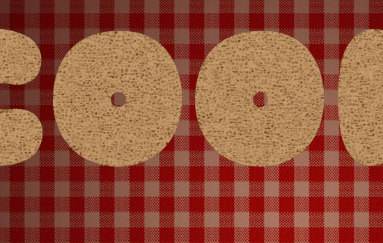 Gingerbread Cookies Text Effect Psd Cookie Font Textuts