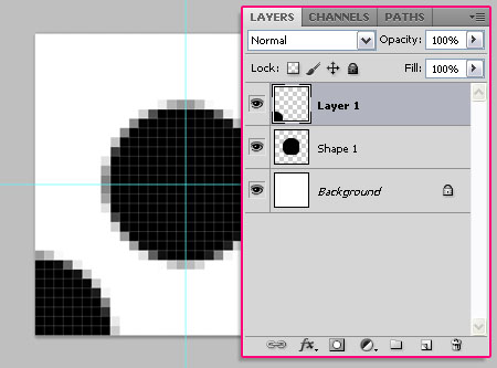 Glowing Polkadots Text Effect step 3