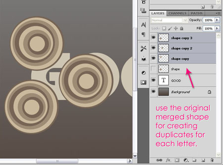 circles 4 - Circles Text Effect | Photoshop Tutorials