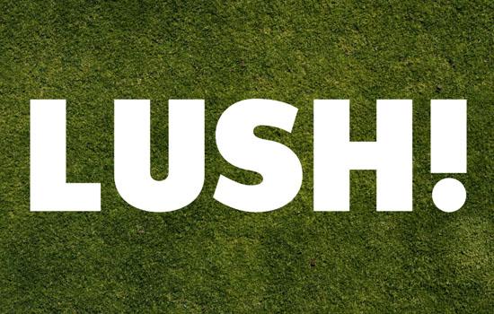 Tạo hiệu ứng chữ trên nền cỏ bằng Photoshop