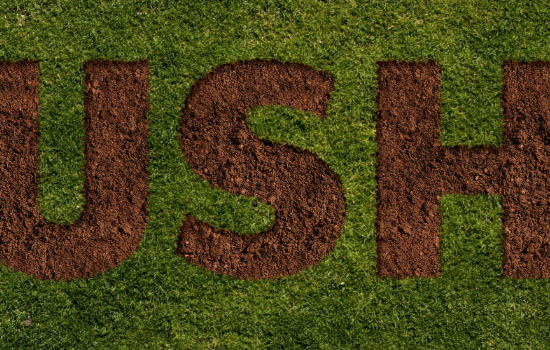 Grass and Dirt Text Effect step 5