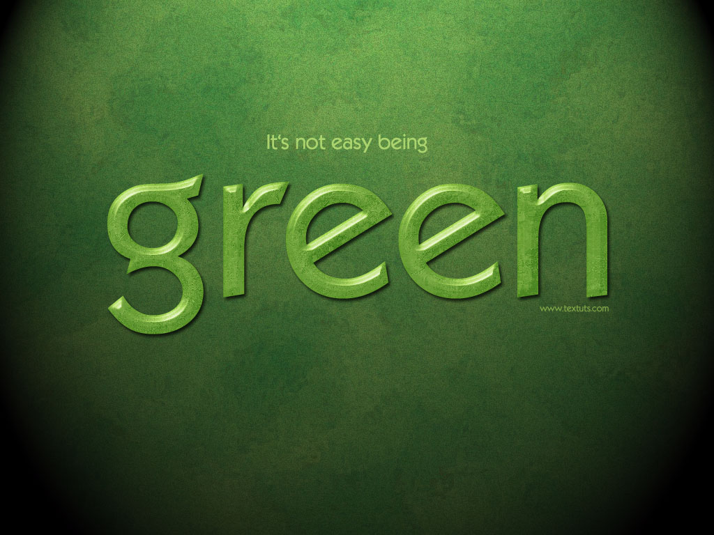 Elegant green text effect psd background font textuts the texture might be simple but it gives a really nice effect to the text here is the final result baditri Gallery