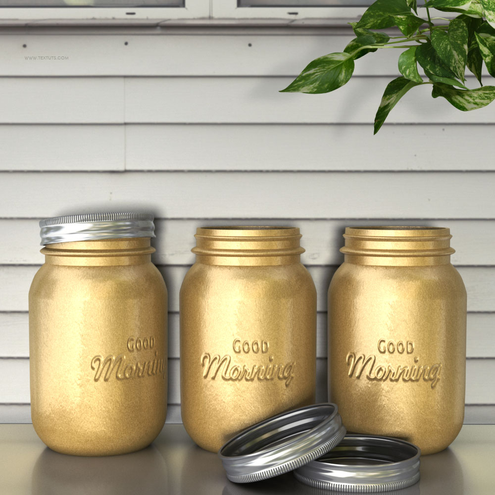 3d embossed text on a jar photoshop glass jar textuts jar embossed text effect baditri Images