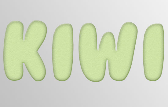 Kiwi Text Effect step 2