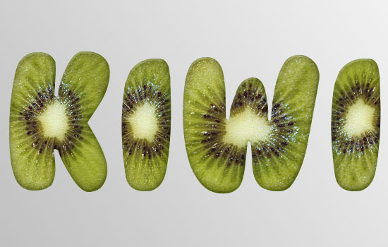 Kiwi Text Effect step 4