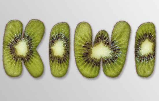 Kiwi Text Effect step 6