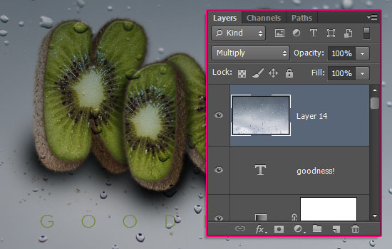 Kiwi Text Effect step 11