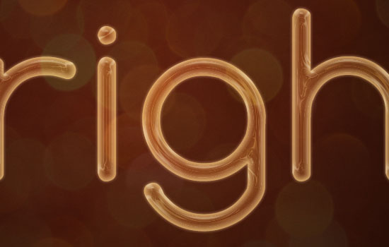 Rope Light Text Effect step 4