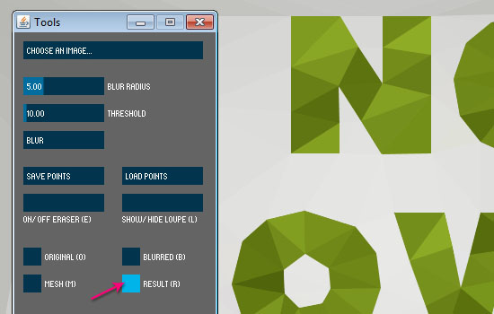 Low-Poly Text Effect step 4
