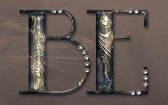 Metallic Marble Text Effect