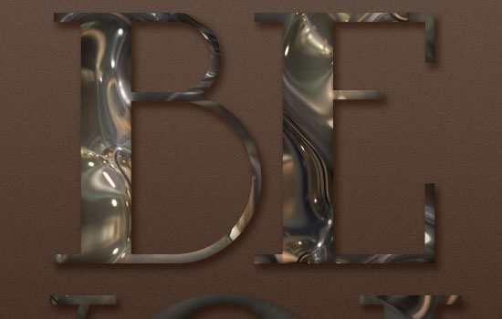 Metallic Marble Text Effect step 3