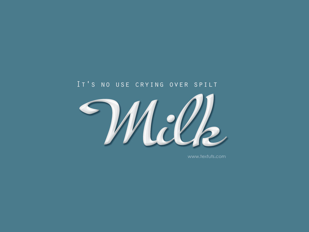 Milk text effect font photoshop textuts