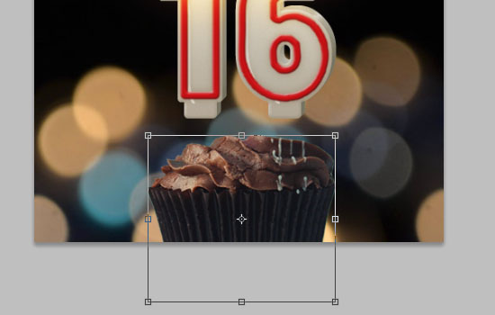 Number Candles Text Effect step 17