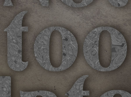 Old Decorated Metal Text Effect step 4