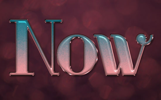 Ombre Text Effect