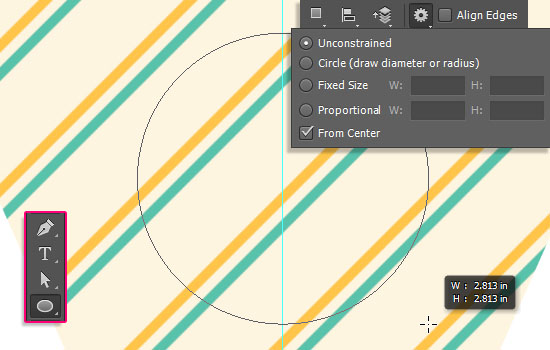 Pennant Banner Text Effect step 2