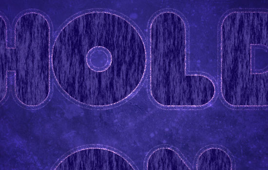 Purple Glow Text Effect step 4
