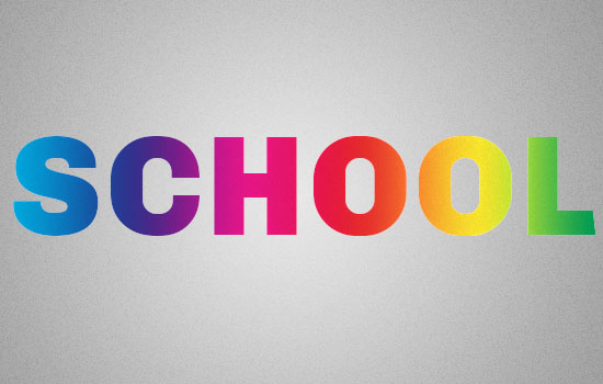 Retro Prism Sticker Text Effect step 2