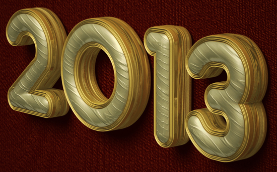 How to make 3d text in photoshop cs5