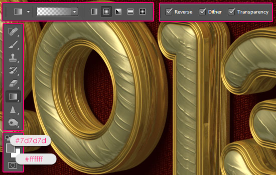 Royal 3D Text Effect step 11