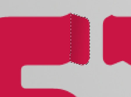 Sharp Fold Text Effect step 4