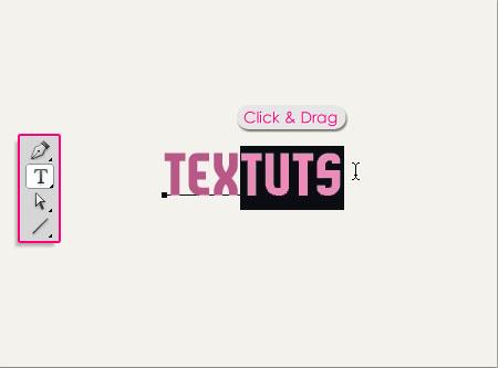 Simple Elegant Header Text Effect step 1