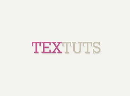Simple Elegant Header Text Effect step 2