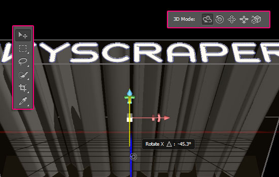 Skyscraper 3D step 2