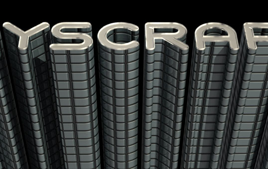 Skyscraper 3D step 6