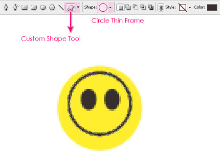 Smile Pattern step 1