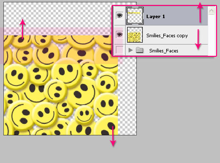 Smile Pattern step 3