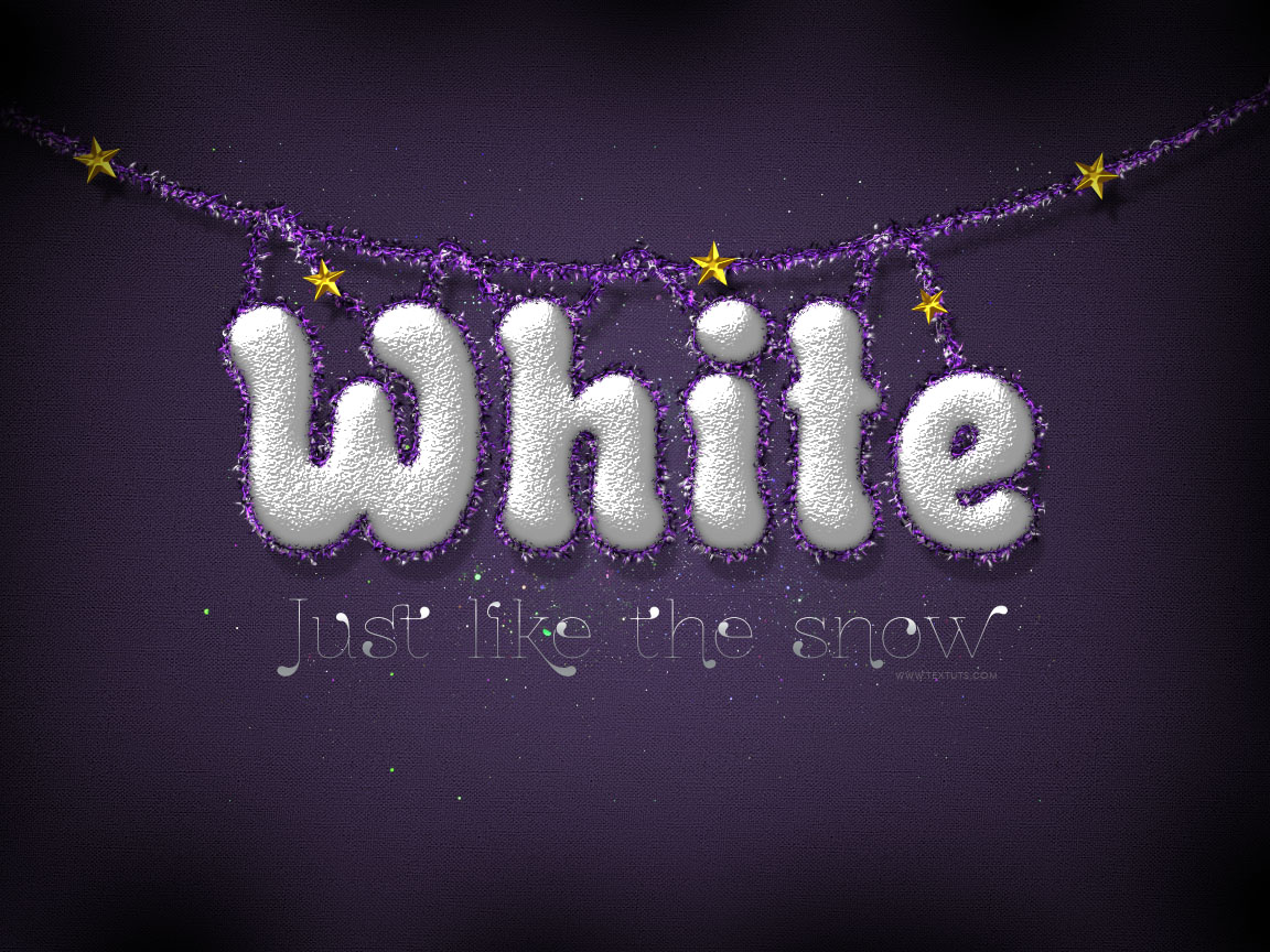 Snowy festive text effect christmas snow psd font textuts snowy festive text effect tutorial details baditri Image collections