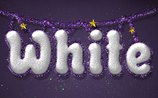 Snowy Festive Text Effect