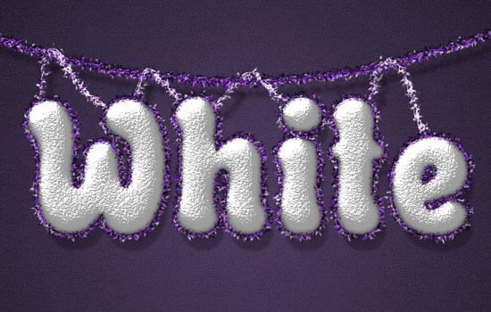 Snowy Festive Text Effect step 9
