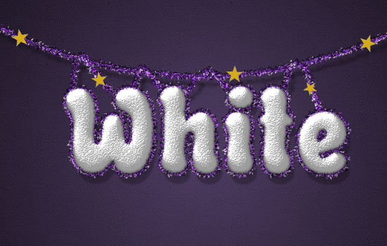 Snowy Festive Text Effect step 10